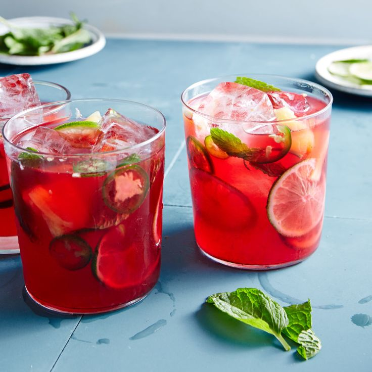 We love the citrusy sour flavor of hibiscus, not to mention its amazing color.