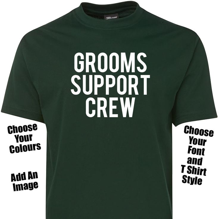 Bucks Party TShirt - Choose Your Text