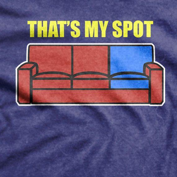 The Big Bang Theory Sheldon Cooper Thats My Spot