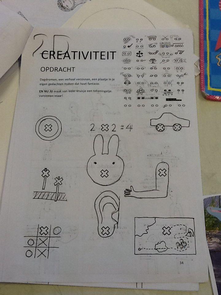 Creativiteit kruisjes