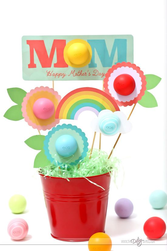 EOS Gift Basket! Love this Mother's Day gift idea!!