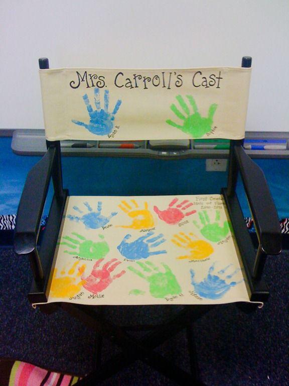 great for a teacher's chair or a teacher's gift