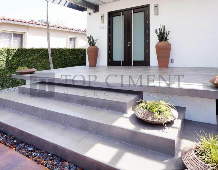 12 best pavimentos de microcemento en interior y exterior images on pinterest flooring pools - Pavimentos de microcemento ...