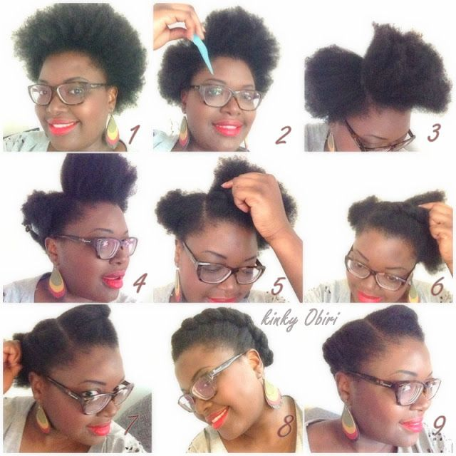 Idee Coiffure Simple Coiffures Afro En 2018 Pinterest Hair
