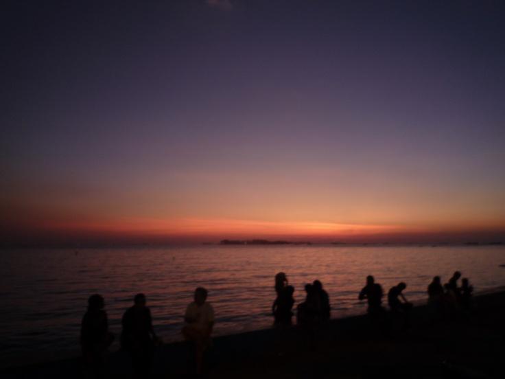 Losari Beach, Makassar, South Sulawesi, Indonesia