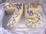 75th birthday cake ideas for mom - Google Search