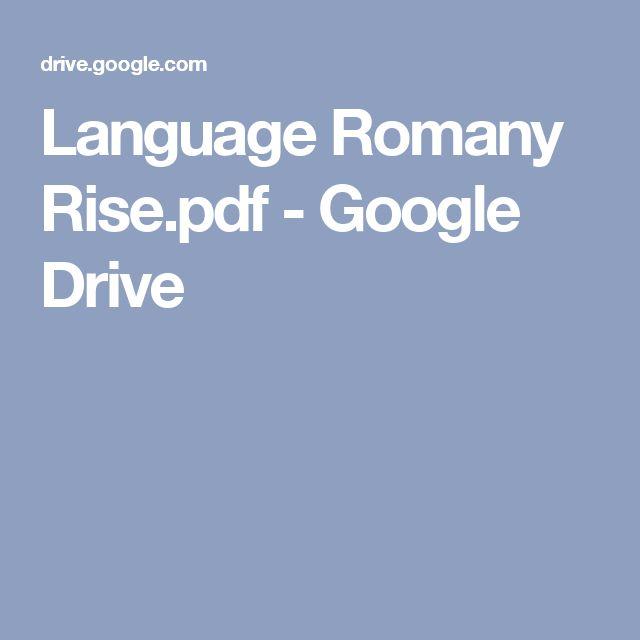 Romani Language Lessons - YouTube