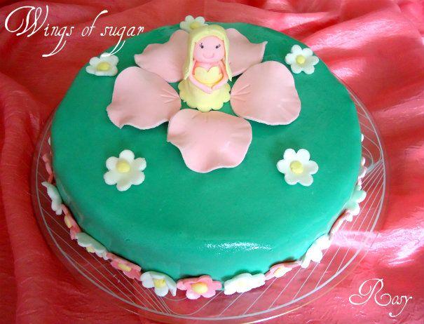 torta di compleanno con folletto birthday cake with sprite
