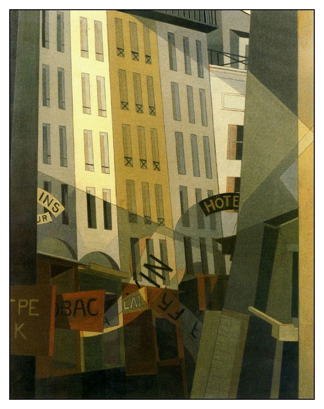 Charles Demuth was one of the first American artists to be receptive to modernism, to which he was exposed during several extensive and significant trips to Europe. While abroad, he  became involved with Gertrude and Leo Stein, Jo Davidson and Ezra Pound in Paris. Further contact with avant-garde styles and ideas came through the frequent trips he made from Lancaster to New York, where his close associates included Alfred Stieglitz, Georgia O'Keeffe, Marsden Hartley and Marcel Duchamp.