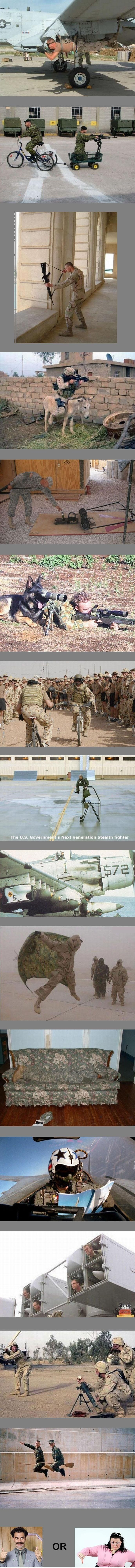 Soldiers screwing around #funny