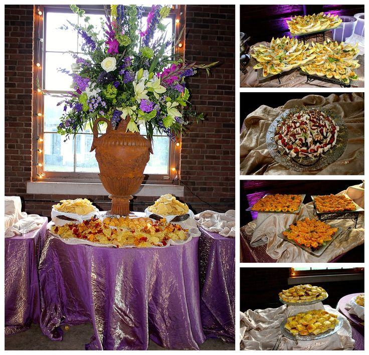 Ashley's Creative Catering Real Wedding: Hatfield-Smith | Huntsville, AL | Roundhouse Depot  Florals: In Bloom