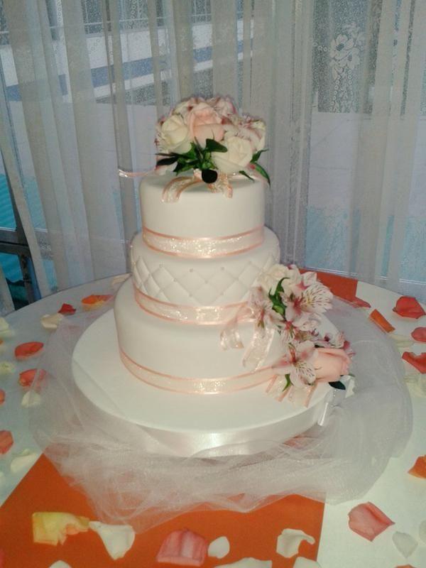Torta del Matrimonio de Carla Ganoza