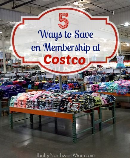 Check out these 5 ways to save on Costco Membership, including Costco Coupon & Discount offers! Costco membership coupons area great way to save even more!