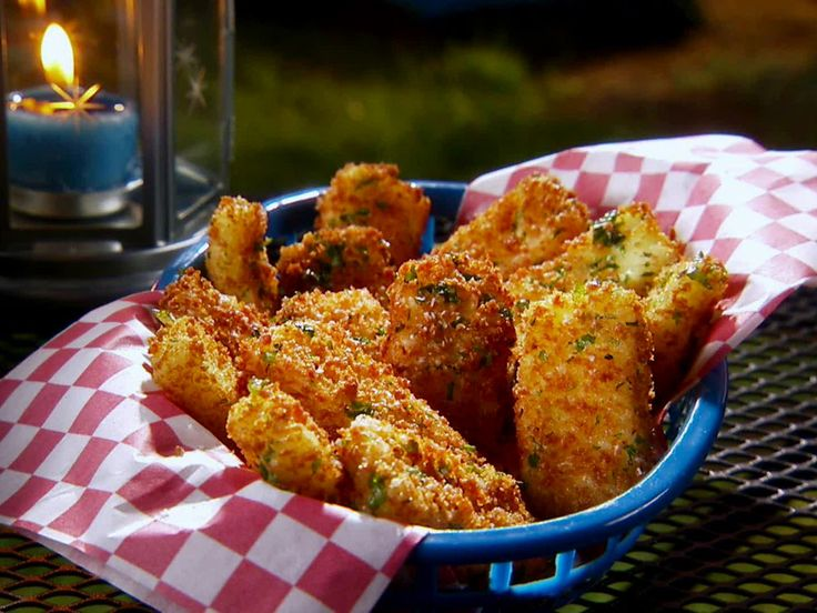 Baked Mexican Cheese Sticks recipe from Marcela Valladolid via Food Network
