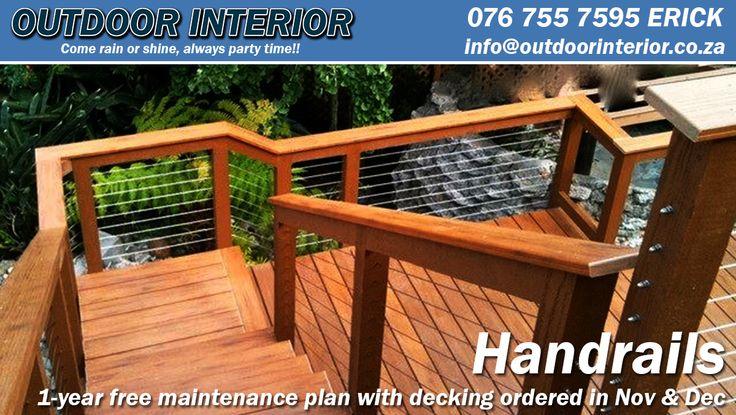 Handrails - http://outdoorinterior.co.za/2015/11/15/handrails/