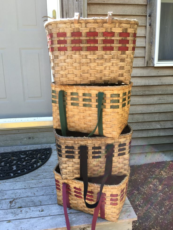 Basket Weaving PATTERN - Farmers Market Shopper - Knitting Basket - Tote Basket-Storage Basket by HookandWeaveDesigns on Etsy