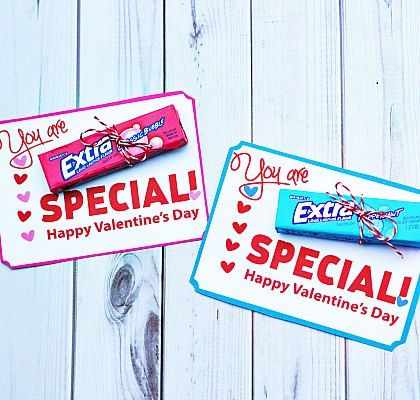 You Are Extra Special : Free Printable Valentines
