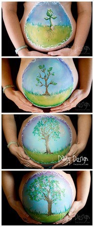 belly paint