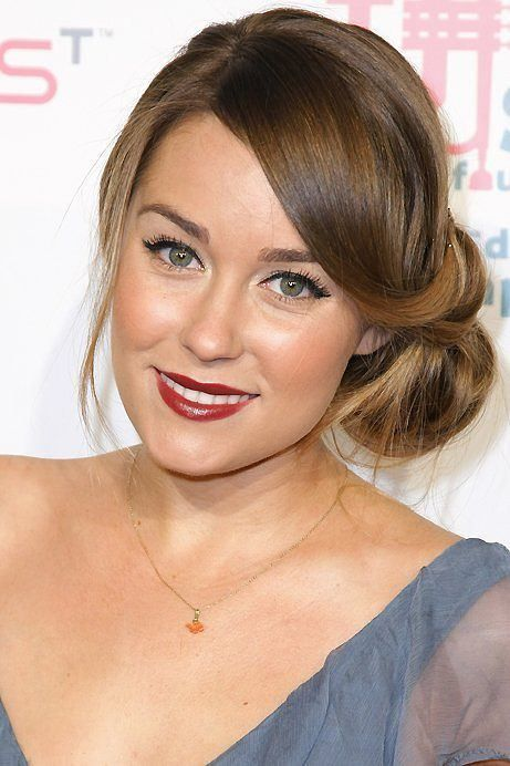 Best Hair For Mom Images On Pinterest Hairdos Hairstyle Ideas - Evening hairstyle for round face