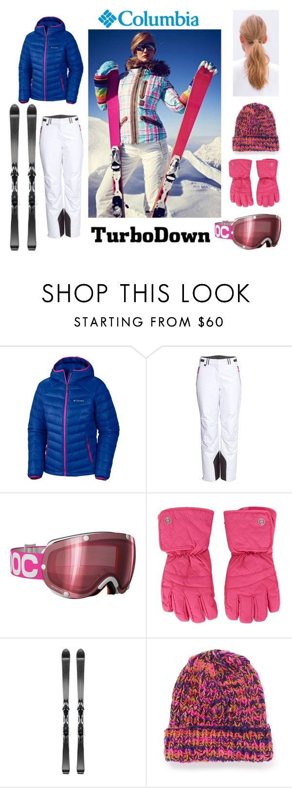 """Columbia TurboDown"" by nat-a-bee ❤ liked on Polyvore featuring Columbia Sportswear, H&M, Volant, The Elder Statesman and Columbia"