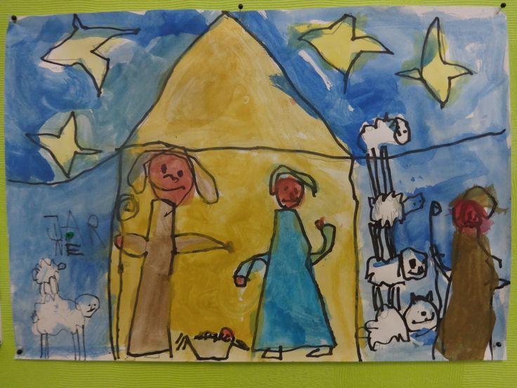 Het kerststalletje van Jarne.