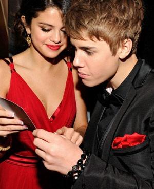 US singer Justin Bieber wearing black Shamballa bracelets..