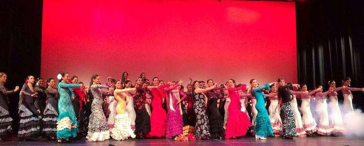 Muestra Flamenco 2013 Academia Alma Gitana Lima Perú, Teatro Peruano Japonés