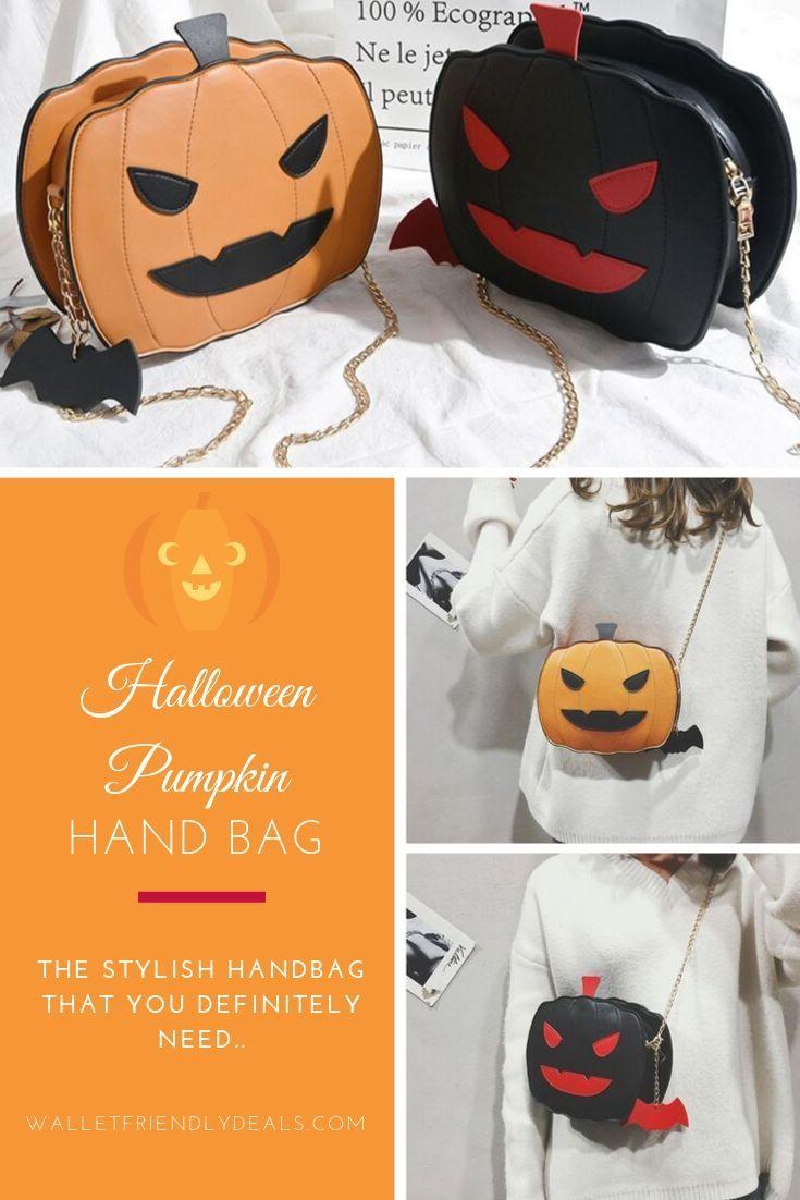 Halloween Pumpkin Accessories.Halloween Pumpkin Handbag Halloween Pumpkins Casual Halloween Halloween Celebration