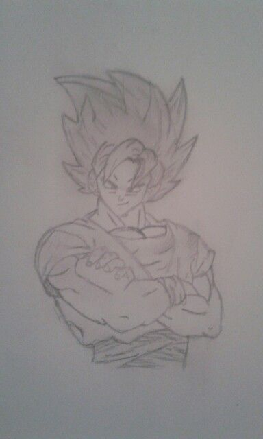 My Goku super sayian two
