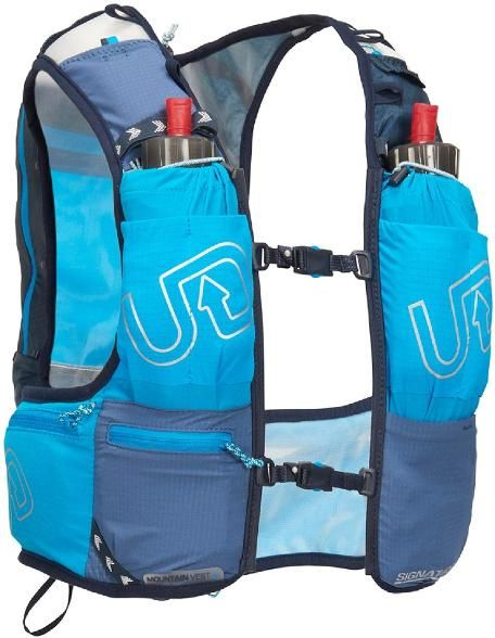 15ea200735 Ultimate Direction Mountain Hydration Vest 4.0 Signature Blue L | running  gear | Hydration pack, Golf bags, Vest