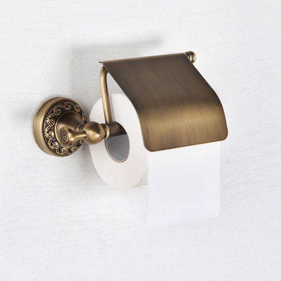 Rustikální držák na toaletní papír | retro koupelnové doplňky | Waterfall…