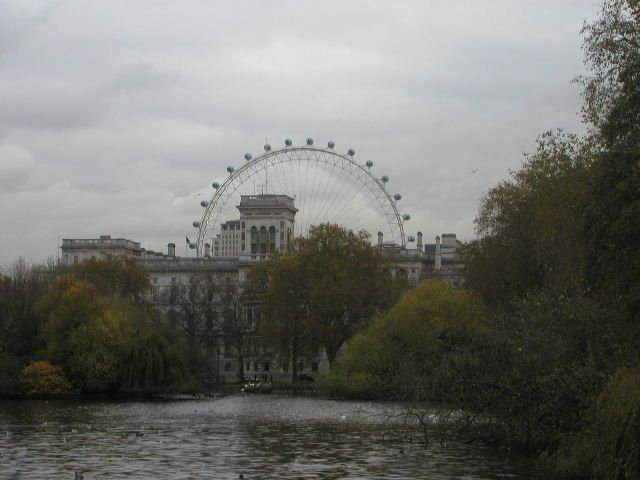 Serpentine and Eye of London