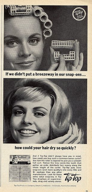 snap-ons    Co-Ed Magazine October 1963. Ugh! Did they hurt!!!!! Especially when you had to sleep in them!!!!