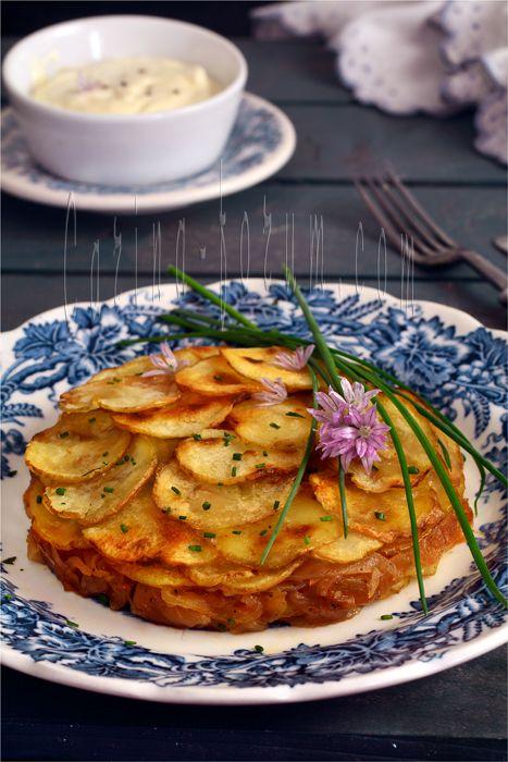 Валлийский луковый пирог