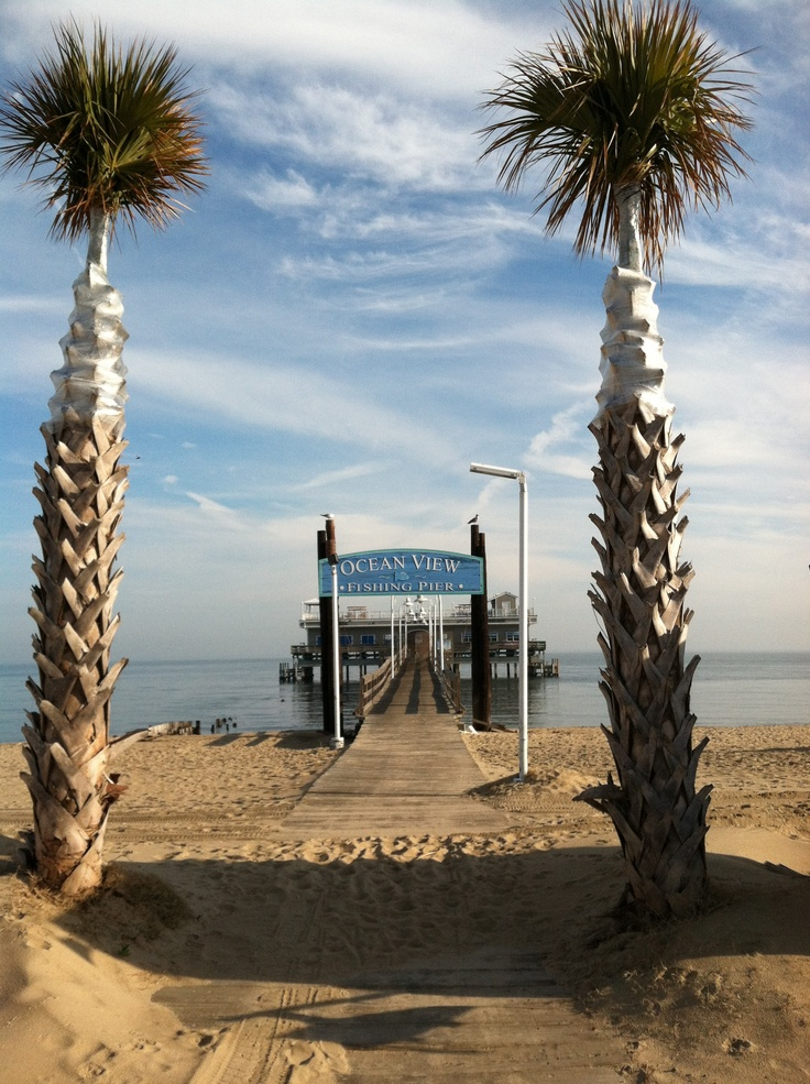 27 best ideas about virginia coastal area on pinterest for Ocean view fishing pier