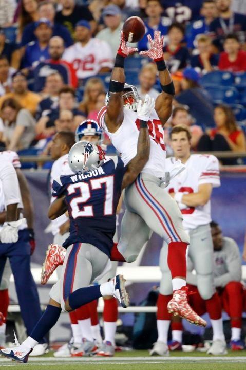 Preseason Week 4 Giants vs. Patriots - Giants TE Jerome Cunningham (9/3/15)