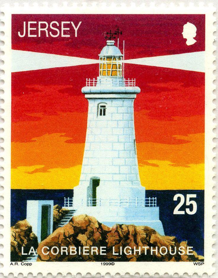 Faros y boyas: Faro La Corbiere: Jersey. 1999