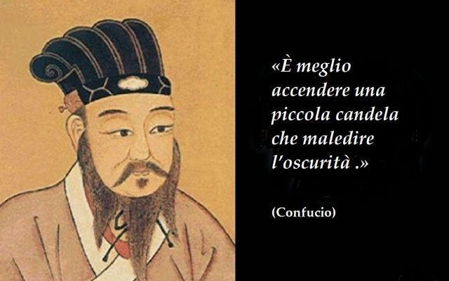 Aforisma del giorno: Confucio, filosofo cinese Confucio fu un filoso e pensatore cinese, vissuto dal 551 a.C. al 479 a.C. Confucio è stato il primo ideatore e promotore di un pensiero originale, inedito nel panorama culturale cinese del VI-V seco #aforismi #confucio