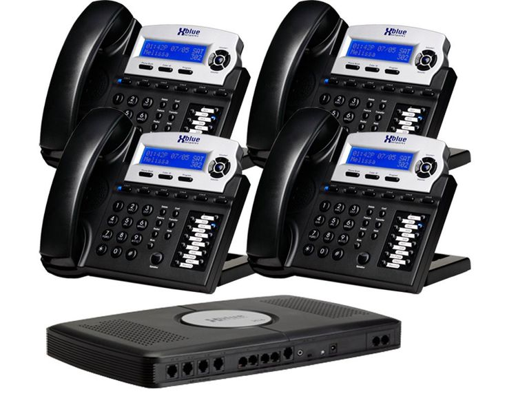X16 6-Line Small Office Phone System with 4 Charcoal X16 Telephones - Auto Attendant, Voicemail, Caller ID, Paging & Intercom. Comes with four X16 Digital Speakerphones but is expandable up to 16 telephones. These are in the fashion color-Charcoal. Auto attendant answers and processes calls. Includes the X16 voice server equipped for connection to 4 telephone lines but expandable to 6 telephone lines. Comes with four X16 Digital Speakerphones but is expandable up to 16 telephones. These…