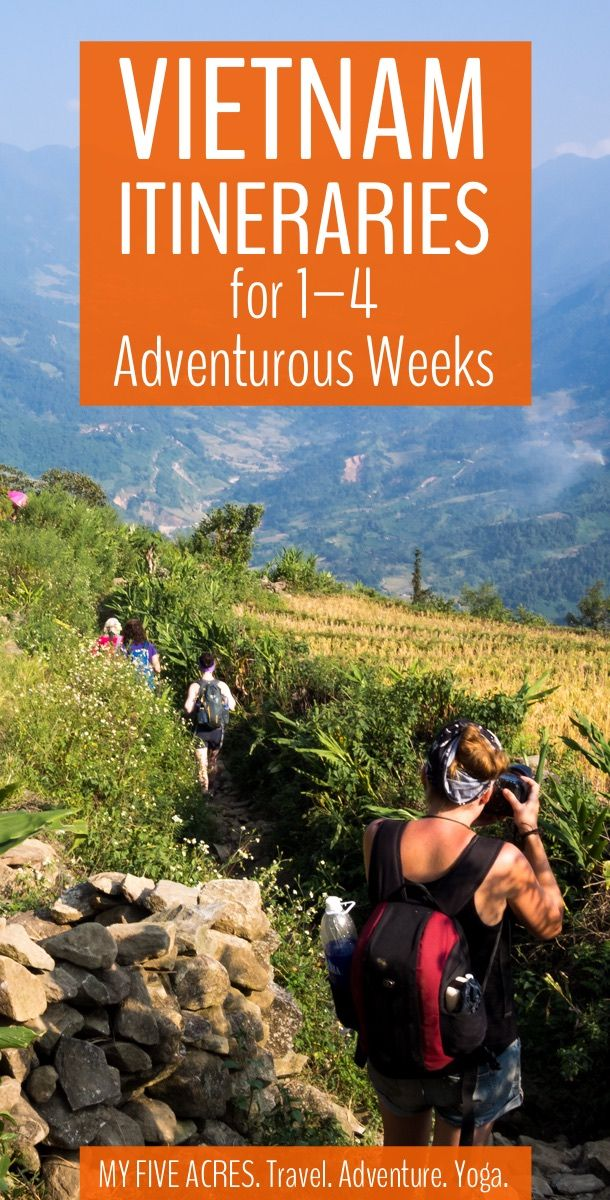 These one-week itineraries can be done on their own or combined to create the ultimate adventurous Vietnam itinerary. This is an amazing country, so grab our itinerary suggestions and get planning your trip! Includes itineraries for north, central, and south Vietnam. #travel #vietnam #seasia