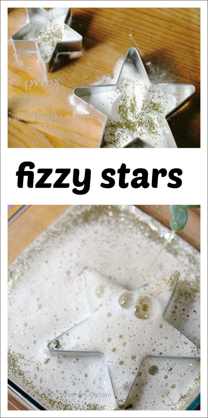A sparkly, fun science experiment for the kids - playful and hands-on learning