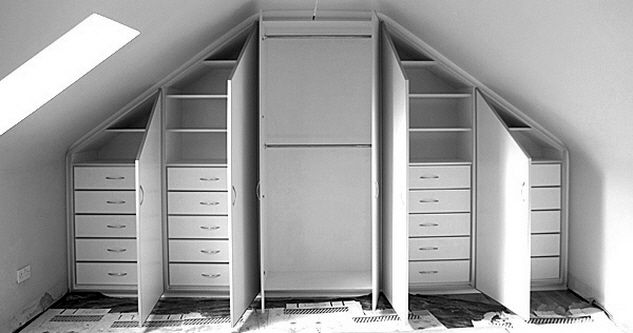 Image result for loft conversion storage ideas