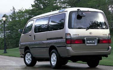 Toyota Hiace Wagon SUPER CUSTOM LIMITED 4WD AT 3.0 D 8PASS (1999) | Japanese Vehicle Specifications - [ tradecarview ]