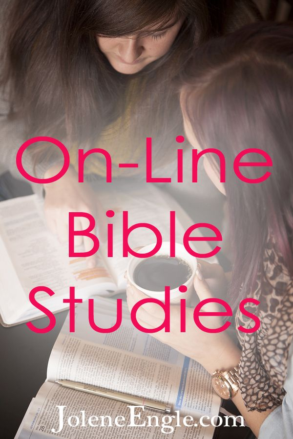 In this post Jolene lists info about 6 great online Bible studies available right now!!  CHECK IT OUT!! Thanks Jolene!!  On-Line Bible Studies