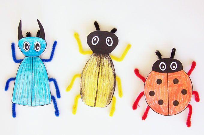 Printable Bug Craft