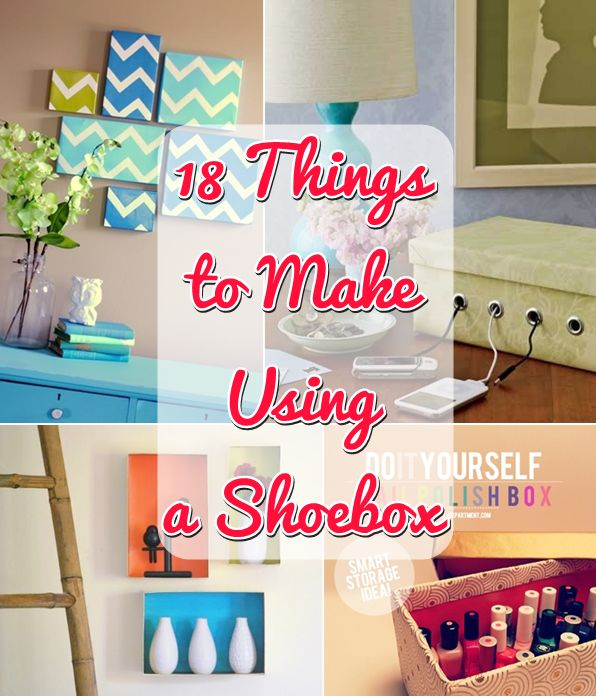 I've made several fun toys and activities for kids using cardboard but nothing like these amazing shoebox projects. You'll be blown away by these 18 things