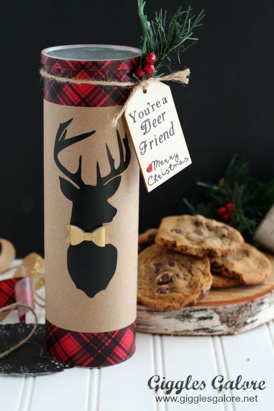 You Are a Deer Friend Christmas Cookie Gift