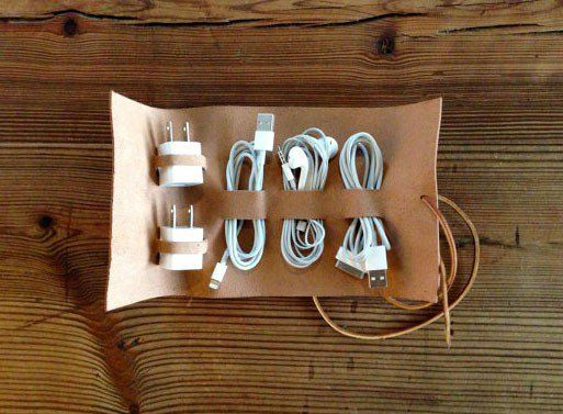 Roll-Up Travel Cord Keeper; Pic Only