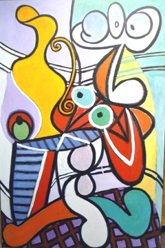 So cool out if control Picasso art