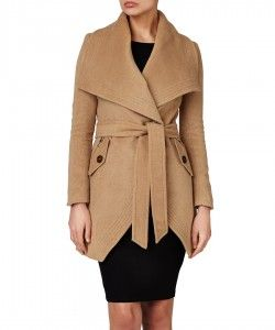Kardashian Kollection Waterfall wrap coat